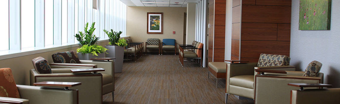 waiting room in healthcare market