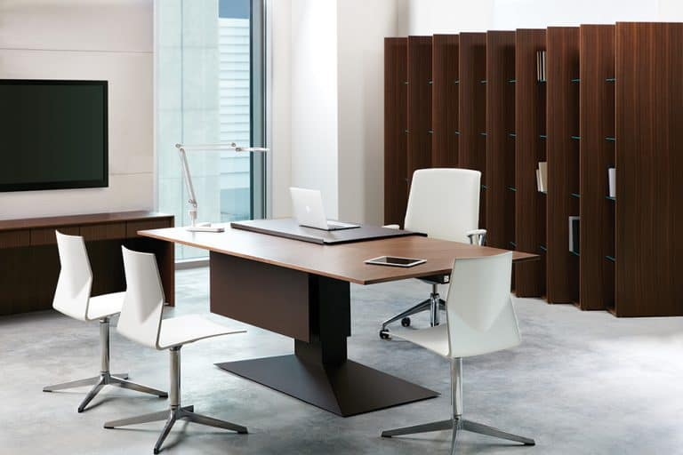 office or meeting room business solutions desk and chairs