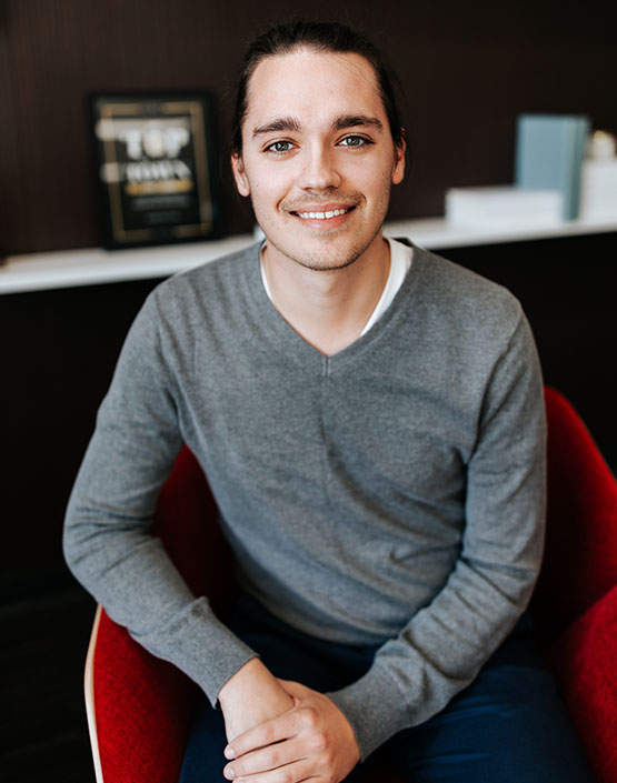 Chase Jamieson, lead designer