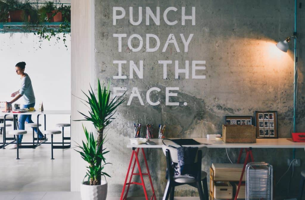 Workspace branding design