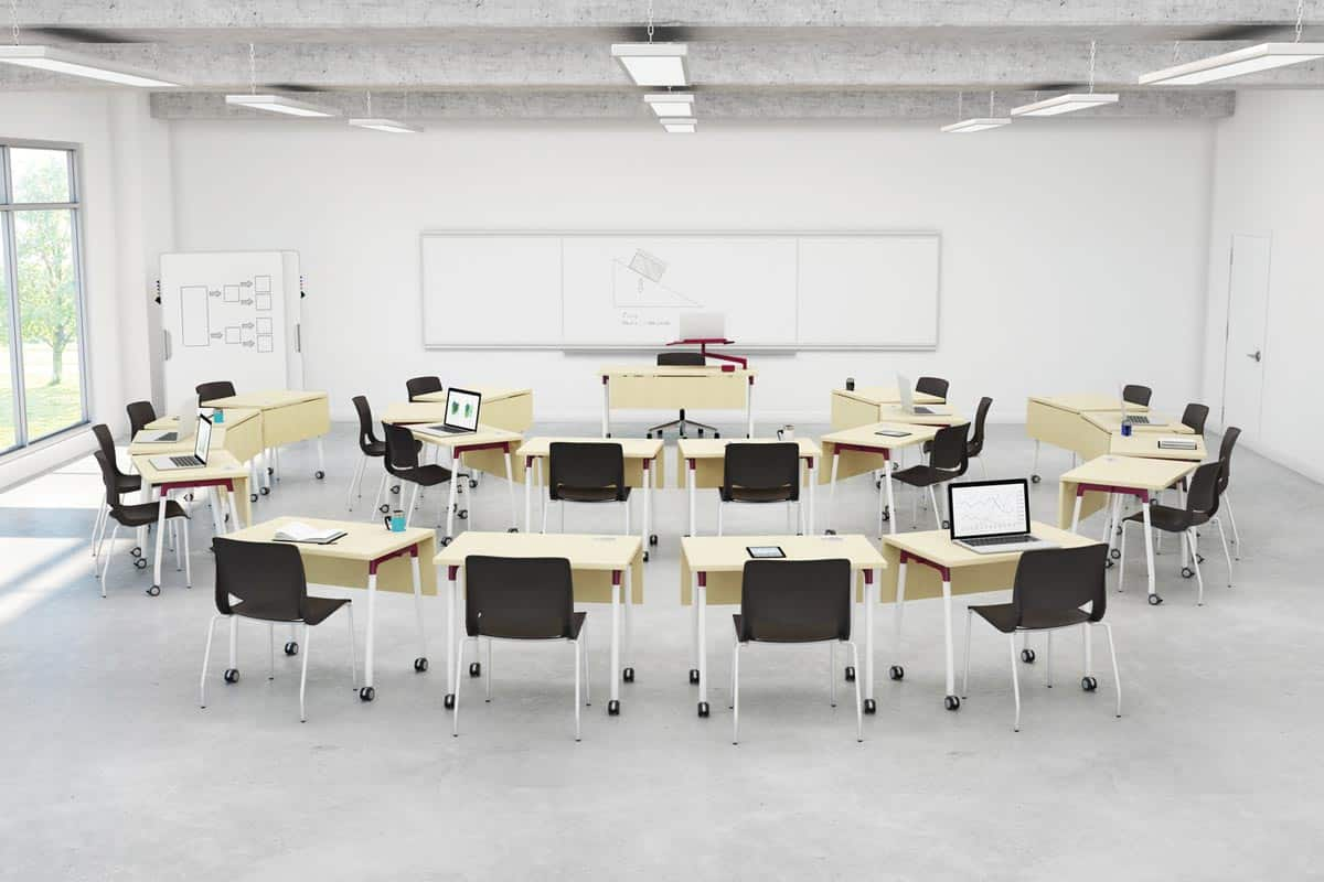 Low Classroom Transitional Seating